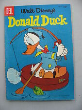 DONALD DUCK 47  Very Good+  Fishing Cvr Uncle Scrooge