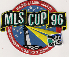 FIRST MLS MAJOR LEAGUE SOCCER CUP 96 CHAMPIONSHIP SPORT JERSEY PATCH