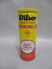 Sealed Vtg Wilson Championship Tennis Balls Extra Duty Felt Optic Yellow (A3)