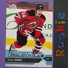MILES WOOD  RC  2016/17 UD Young Guns #453 YG ROOKIE  New Jersey Devils