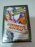Experimento Alcatraz John Howard Joan Dixon - DVD Español Ingles Nueva - AM