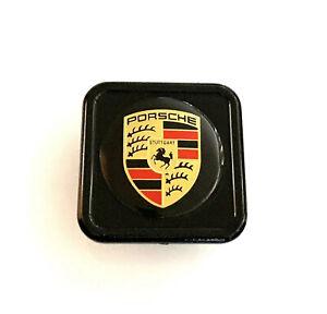 Porsche Cayenne Tow Hitch Receiver Cover Black New LOCKABLE