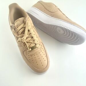 NEW Nike Air Force 1 One Low '07 Craft Tan White CU4865-200 Sz9 to Sz 11