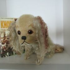 "1928-1934 STEIFF Charly dog with button 15"" x 11 3/4"""