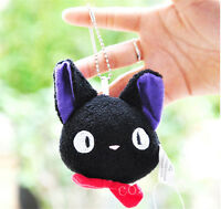 KiKi's Delivery Service Kiki Black Cat Soft Plush Toy Pendant Keychain 9cm Hot