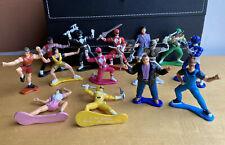 Huge Lot 14 Bandai 1992 Power Rangers Figures Action 90s Vtg Mighty Morphen Pvc