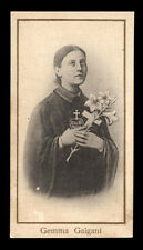 "santino-holy card""S.GEMMA GALGANI 19"
