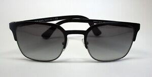 Prada PR61S BLACK SUNGLASSES New Authentic 52