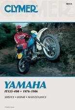 Clymer Repair Manual Fits: Yamaha IT200,IT490,IT175,IT250,IT465,IT125,IT425,IT40