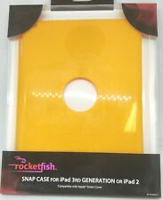Rocketfish RF-PD3SB13-Y Snap Case for iPad 2 and iPad (3rd Generation)
