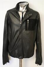 Men's LOT 78 Veste en cuir Ethan EU52 Large/Xl Rrp £ 695 Manteau Veste Cuir
