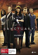 SANCTUARY - SEASON 2 - BRAND NEW & SEALED 4-DISC DVD (AMANDA TAPPING) REGION 4
