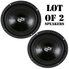 """Pair of Pyle Pdmr6 300W Midbass/Midrange 6.5"""" Woofers Pro Sealed Back; 8 Ohm"""