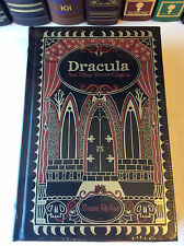 Dracula and Other Horror Classics by Bram Stoker - leatherbound - ships in a box