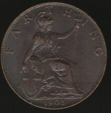 More details for 1905 edward vii farthing coin | british coins | pennies2pounds