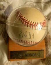 Raul Mondesi Signed Baseball Los Angeles Dodgers