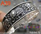 New Tibetan Tibet Silver The Elephant Bangle Cuff Bracelet
