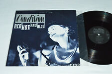 """CONDITION Red Hot And Blue 12"""" Vinyl 1986 LP 33rpm Amok Records USA WRC1-4954 VG"""