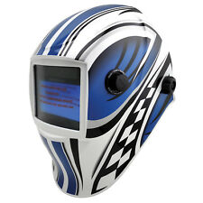Bossweld X-SIGHT F1 ELECTRONIC WELDING HELMET Variable Shade, Quad Sensors
