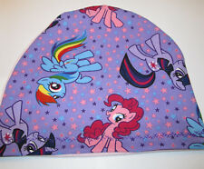 Kids Chemo Hat  My Little Pony Pink Back Alopecia Sleep Cap Cancer Hat