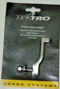 TEKTRO FRONT SILVER BICYCLE BRAKE CABLE HANGER (249)