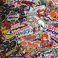 New Mixed Random Stickers Decal Motocross Motorcycle Car ATV Racing Bike Helmet