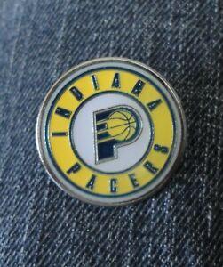 Indiana Pacers Basketball NBA Enamel Pin Lapel Badge