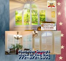 "Plantation Shutters | Wood & Poly Window Shutters 35"" X 60"" $ 350 Louvers 2""-3"""