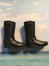BARBIE KEN PRINCE MODERN CIRCLE HARLEY DAVIDSON DOLL  SNAP ON BOOTS SHOES