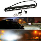 13 inch Slim 36W CREE LED Spotlight Combo Lamp Driving Offroad Work Light Bar