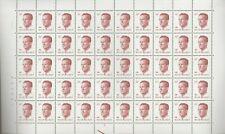 """Belgique, Belgïe, Feuille de timbres """" Roi Baudouin """" neuve MNH, bien"""