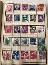 4 Books Of Old Used Mixed Thousands Stamps Vintage Huge Exchange Club 1653
