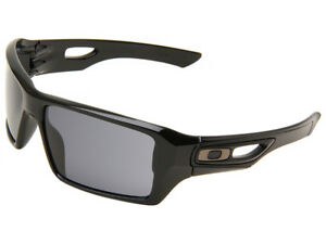 Oakley Eyepatch 2 Sunglasses OO9136-13 Polished Black/Grey