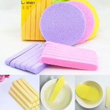 12Pcs Skin Care Compressed Facial Clean Wash Puff Sponge Stick Face Cleansing