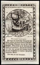 santino incisione 1600 SS.80 MARTIRI DI COSTANTINOPOLI