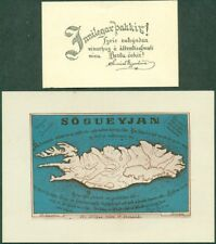 ICELAND Collection S. EGGERTSSON Postcards 1912-1944, 25 total items