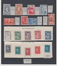 netherlands BETTER stamps MOST MINT cv $150