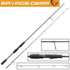 Savage Gear Black Savage Spin 198cm 2-7g Spinnrute für Forelle und Barsch