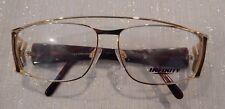 Vintage Infinity Eyewear Caz Gold/Tort 57/13 Eyeglass Frame New/Old Stock #198
