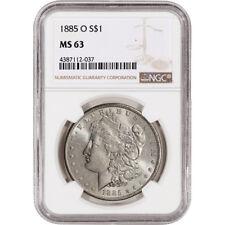 1885-O US Morgan Silver Dollar $1 - NGC MS63