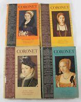 Coronet Magazine Lot of 4 1937 May, June, July, September Vintage