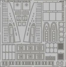Eduard 53195	1/48  DKM Type VIIC U552 U-Boat Hull Body Pt.3 for Trumpeter