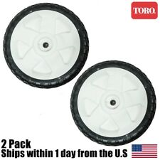 "2PK OEM Toro 8"" Tires Lawn Mower Rear Personal Pace Wheels 115-4695 138-3216"