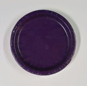 "Party Plates Round Paper 20 per pack 7"" - U Pick Color"