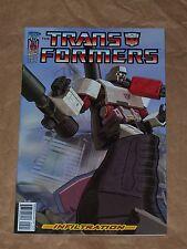 Transformers Infiltration #5 - 5a Ej Su cover - Vf/Nm - Idw - Furman/Su