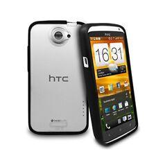 X-LINE casos de TPU rígida posterior para el/XL HTC One X