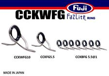 FUJI Fazlite ring CCKWFG CCKFG CCKBFG SET Casting Rod Guides SET