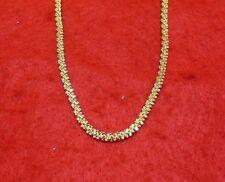 """Rope Propeller Chain Designer Bracelet 8"""" 14Kt Gold Ep 3Mm Spiral"""