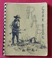 Vintage 1971 RAFT COOKBOOK Wichita Derby Sedgwick Camping RV Site Raftaires Comb