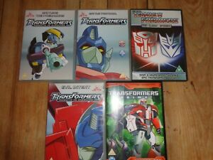 Transformers -  ORIGINAL  DVD BUNDLE-BATTLE PROTOCOL-CLASSIC EPISODES-ECT